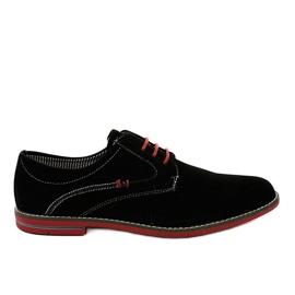 Černá Černé elegantní boty 6-688