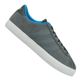 Šedá Obuv Adidas Vl Court Vulc M AW3927