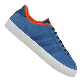 Modrý Obuv Adidas Vl Court Vulc M AW3963