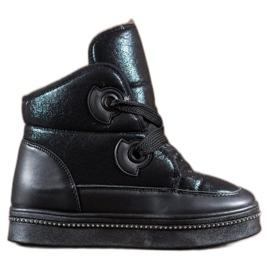 RTX WALK černá Sněhové boty s krystaly