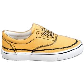 Bestelle žlutý Módní tenisky