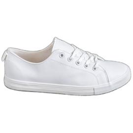 SHELOVET bílá Pohodlné tenisky