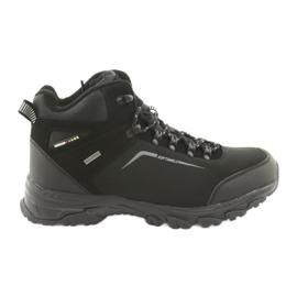 American Club černá Trekkingová zimní zimní obuv s membránou