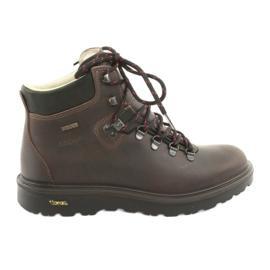 Hnědý Grisport hnědá trekkingová obuv