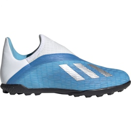 Fotbalová obuv Adidas X 19,3 Ll Tf Jr EF9123