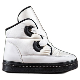 RTX WALK bílá Sněhové boty s krystaly