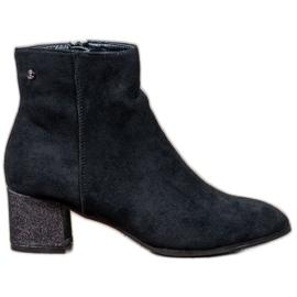 Filippo černá Klasické semišové boty