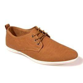 Hnědý Stylové boty -82 velbloud
