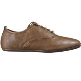 Elegantní jazzová obuv TL8312-2 Camel hnědý