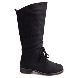 Jazz High Boots 7-1GN016A Černá