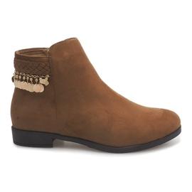 Hnědý Velbloudí boty LL113