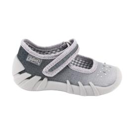 Šedá Dětská obuv Befado 109P185