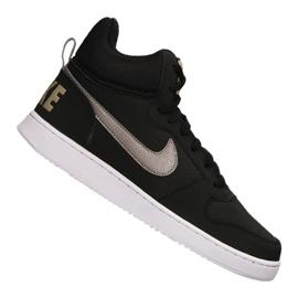 Černá Obuv Nike Court Borough Mid M 838938-005