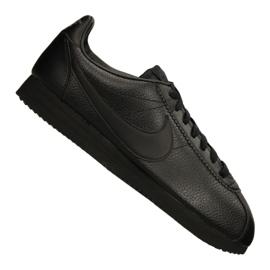 Černá Obuv Nike Classic Leather M 749571-002