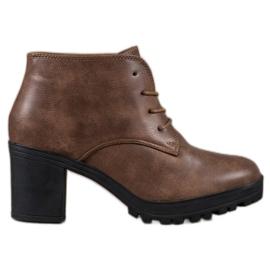 SHELOVET Kotníkové boty s šněrováním