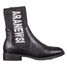 Vysoké boty VINCEZA černá