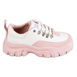 SHELOVET růžový Přiložené sportovní boty