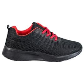 SHELOVET Černá sportovní obuv