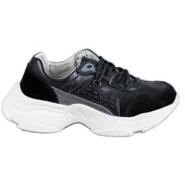 Vinceza Přiložené sportovní boty černá