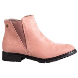Clowse růžový Klasické pudrové boty