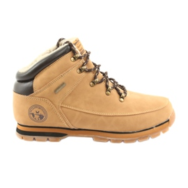 American Club ES40 velbloudí krajkové boty