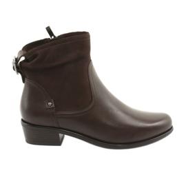 Dámské boty Caprice 25335 hnědé hnědý