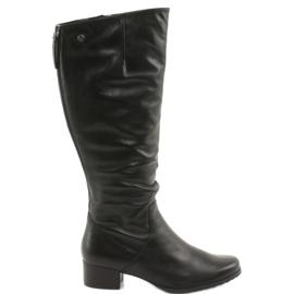 Caprice 25500 černé boty černá