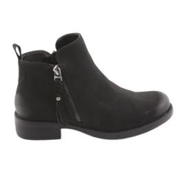 Černé boty Sergio Leone 554 černá