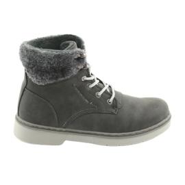 American Club Krajkové boty RH47, šedé šedá
