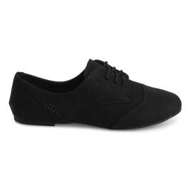 Prolamované jazzové boty nízké 219 černé černá