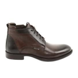 Zimní boty značky Badura hnědý