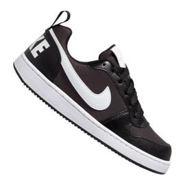 Obuv Nike Court Borough Low Pe (GS) Jr BQ7566-002 černá černá