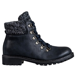 SHELOVET Navy Boots modrý