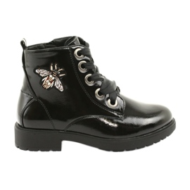 Lakovací boty Sergio Leone 530 černá