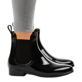 Černé krátké kalhotky s elastickým ZA-3 černá