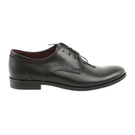 Kožená obuv Pilpol 1609 černá