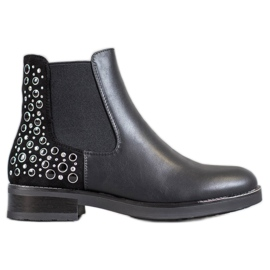 Filippo Černé dámské boty černá
