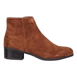 Filippo Klasické kožené boty hnědý