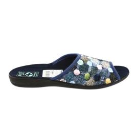 Pantofle žabky 3D Adanex navy blue