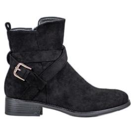 Filippo Suede Boots černá