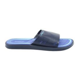 Pánské pantofle pro tmavě modrý bazén Atletico
