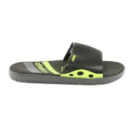 Černé pánské pantofle pro bazén Atletico