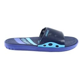 Černé pánské pantofle pro Atletico navy blue