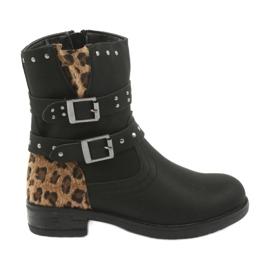 Black Leopard boty American Club trysky