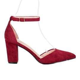 Elegantní čerpadla VINCEZA červená