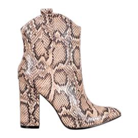 Kovbojské boty VICES hnědý