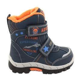 American Club Americké boty na boty s RL35 tmavě modrou válečné loďstvo oranžový