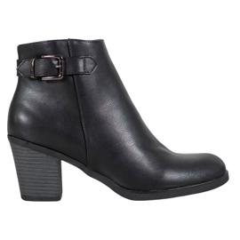 Filippo Klasické černé kotníkové boty černá