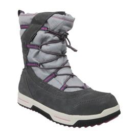 Timberland Snow Stomper Pull On Wp Jr A1UJ7 zimní boty šedá
