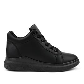 Izolované černé tenisky TL133-1 černá